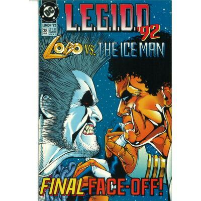 L.E.G.I.O.N.'92 Lobo vs. The Ice Man No. 38