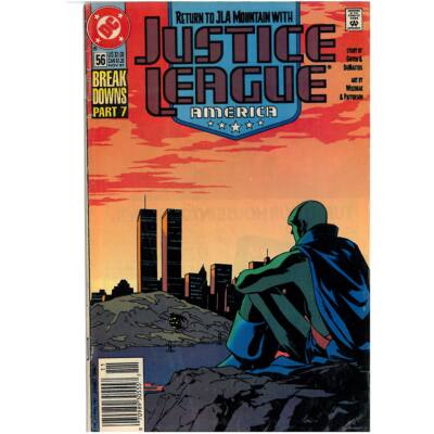Justice League America No. 56