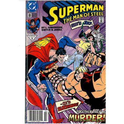 Superman the man of steel 8