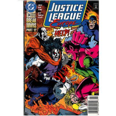 Justice League Europe vol 1. 34