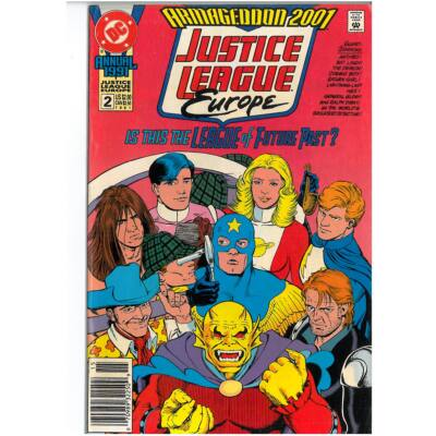 Justice League Europe Annual 1991 No. 2