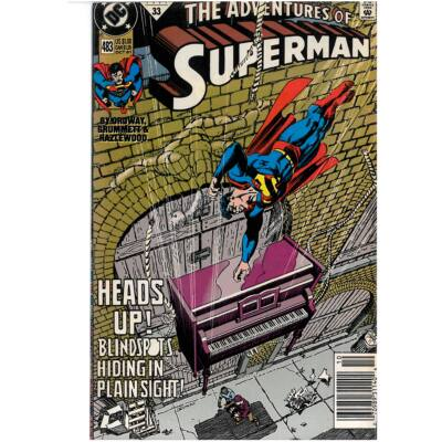 The adventures of Superman No. 483