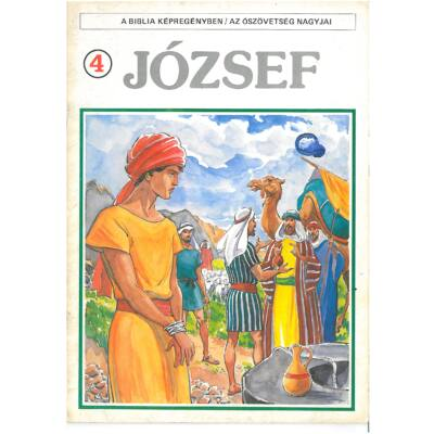 A biblia képregényben / Az ószövetség nagyjai 4. József