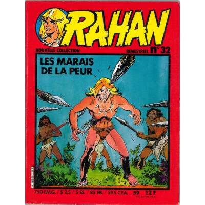 Rahan Nouvelle CollectionNo. 32