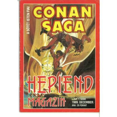 Hepiend Magazin Conan Saga 1. sz.