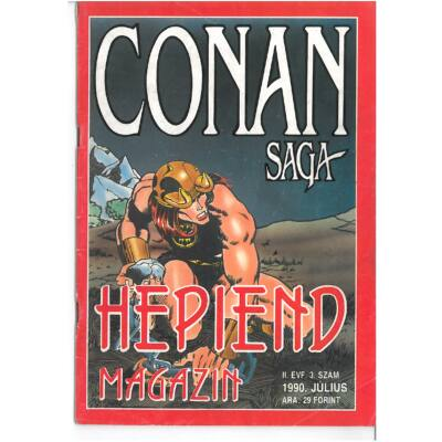 Hepiend Magazin Conan Saga 2. évf. 3sz.
