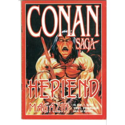 Hepiend Magazin Conan Saga 3. évf. 1sz.