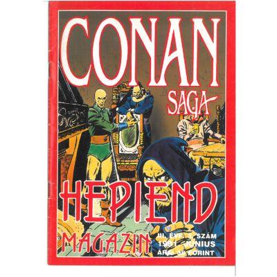 Hepiend Magazin Conan Saga 3. évf. 3. sz.