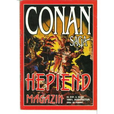 Hepiend Magazin Conan Saga 3. évf. 4. sz.