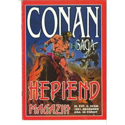Hepiend Magazin Conan Saga 3. évf. 6. sz.