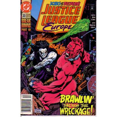 Justice League Europe vol 1. 33