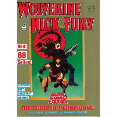 Wolverine Nick Fury Album 11. sz