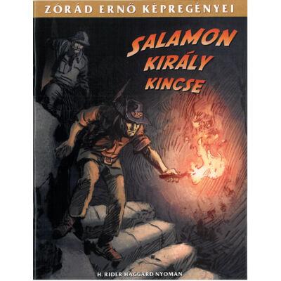 Zórád Ernő képregényei (Salamon király kincse)