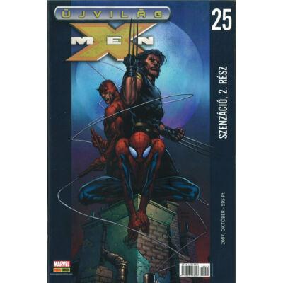 Újvilág X-men 25. szám