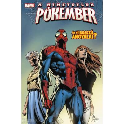 """A Hihetetlen Pókember: Az Új Bosszú Angyalai? (""""A"""" borító)"""