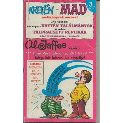 A Kretén - Mad zsebkönyvek sorozat a 3 darab