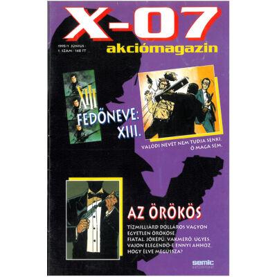X-07 akciómagazin 1. sz.