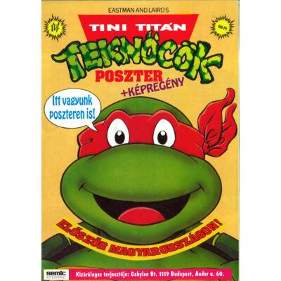 Tini Titán Teknőcök poszter+képregény