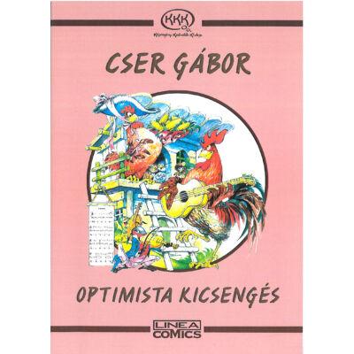 Optimista kicsengés Cser Gábor (Kútfő képregények 3.)