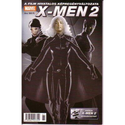 X-Men 2 A film hivatalos képregényváltozata